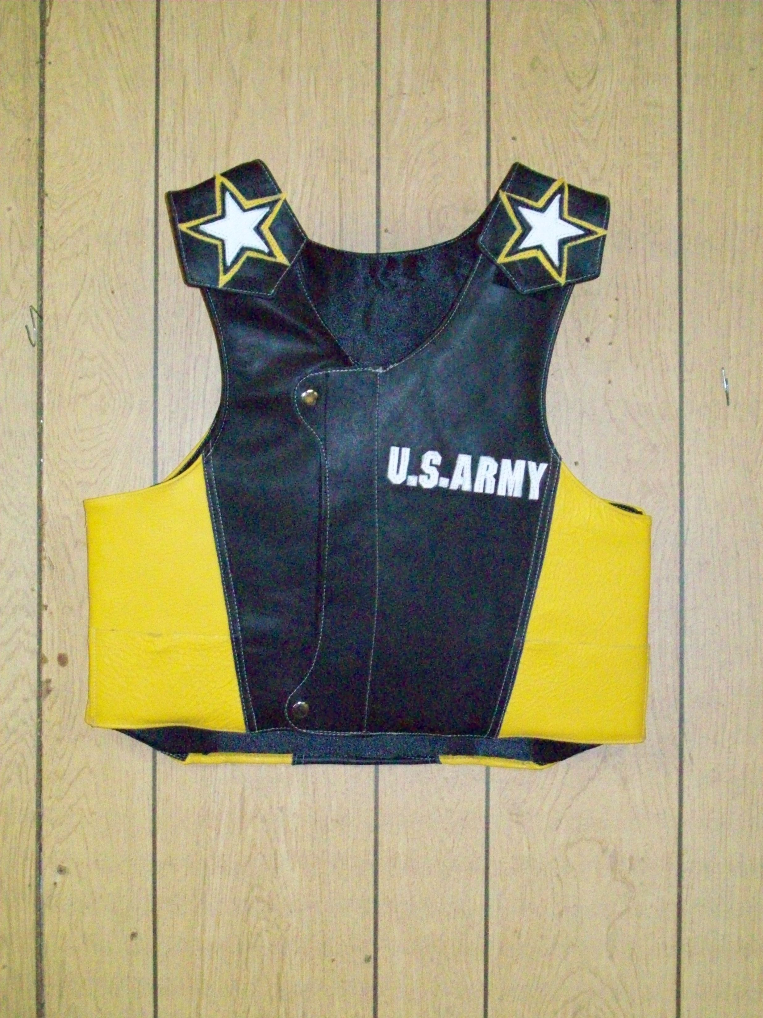Bull Riding Protective Vest, Protective Vest, Rough Stock Protective Vest,  All Rodeo Events,Protective Vest