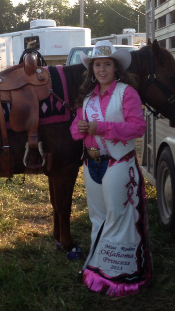 Rodeo Queen, Princess Chaps