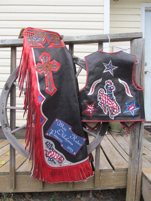 Rodeo Queen Chaps,HS Queen / Teen Chaps
