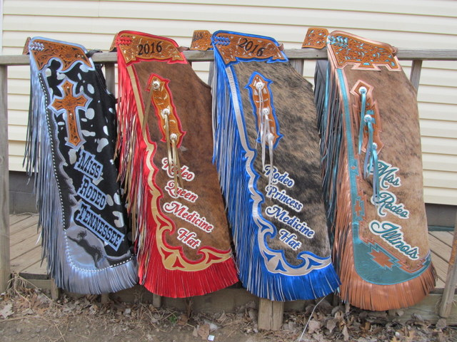 Custom Rodeo Queen Chaps USA & Canada