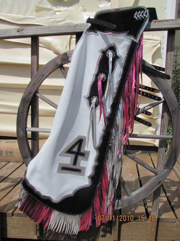 Changable Rodeo Queen  chaps Logo Plaque
