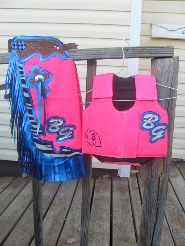 Youth, Mutton Bustin Protective Vest & Chaps