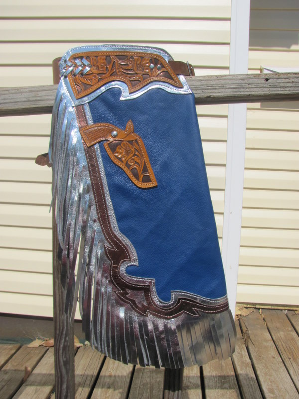 YOUTH BULLRIDING CHAPS