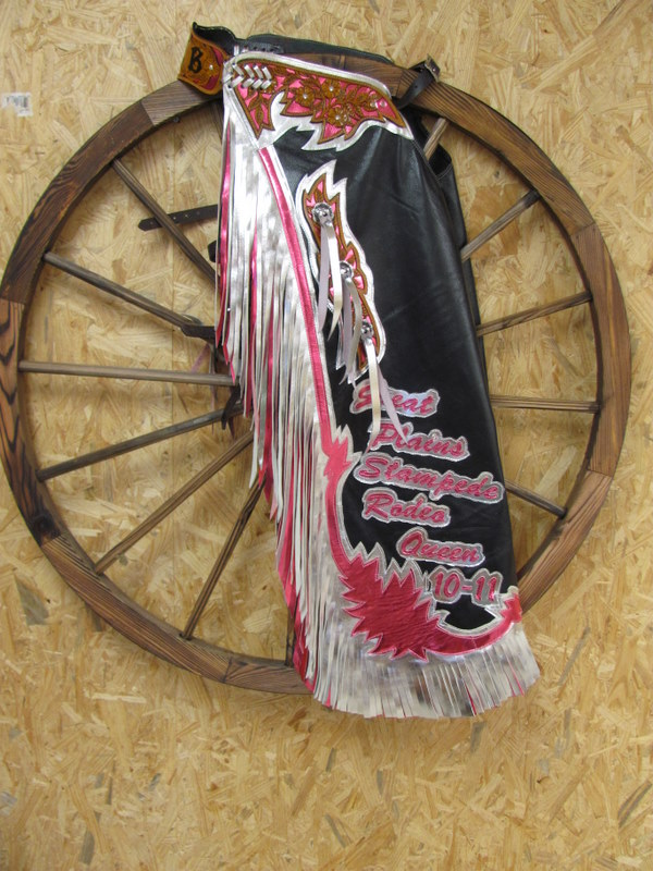 Rodeo Queen Chaps,Adult thru Mutton Bustin,Flame Design Chaps