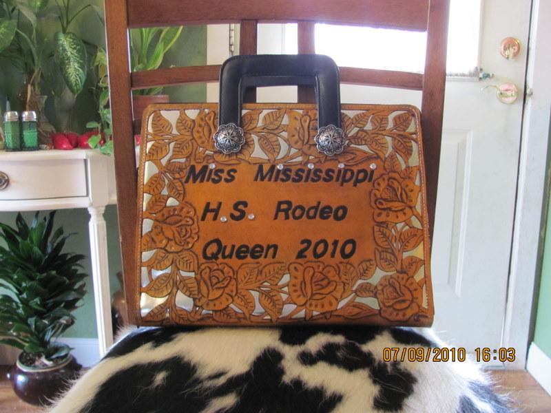 H.S. Rodeo Brief Case
