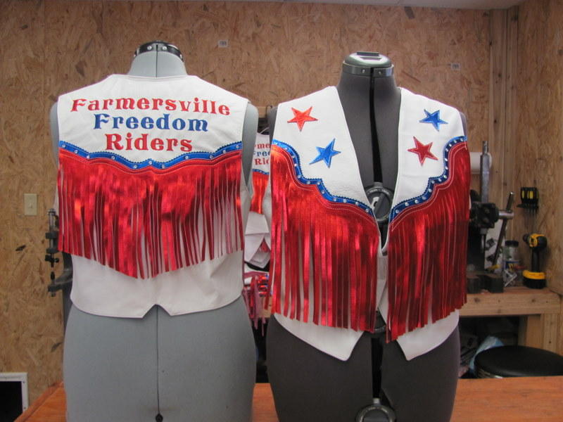 Drill Team Vest, Riding Club Vest