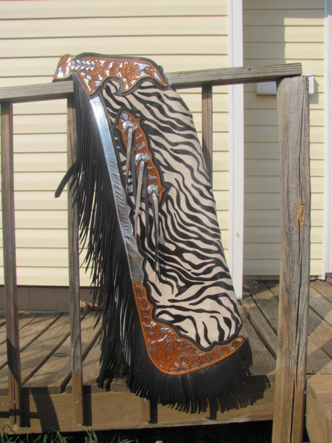 Custom Rodeo Youth Chaps