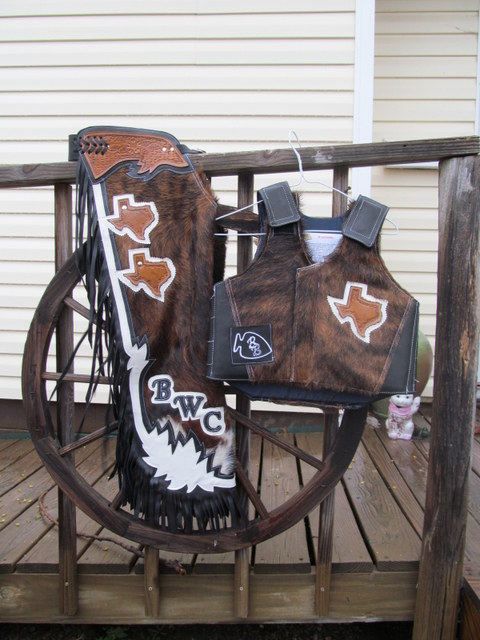 Bull Riding Protective Vest, Protective Vest, Rough Stock Protective Vest,  All Rodeo Events, Protective Vest