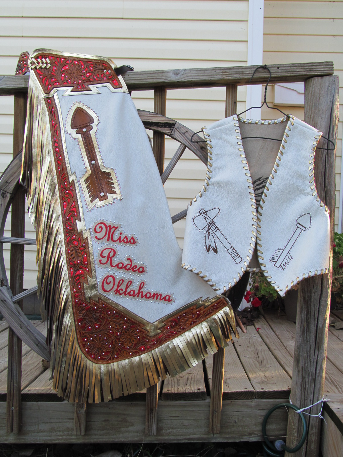Rodeo Queen Chaps,Miss Rodeo Oklahoma Queen Chaps 2015
