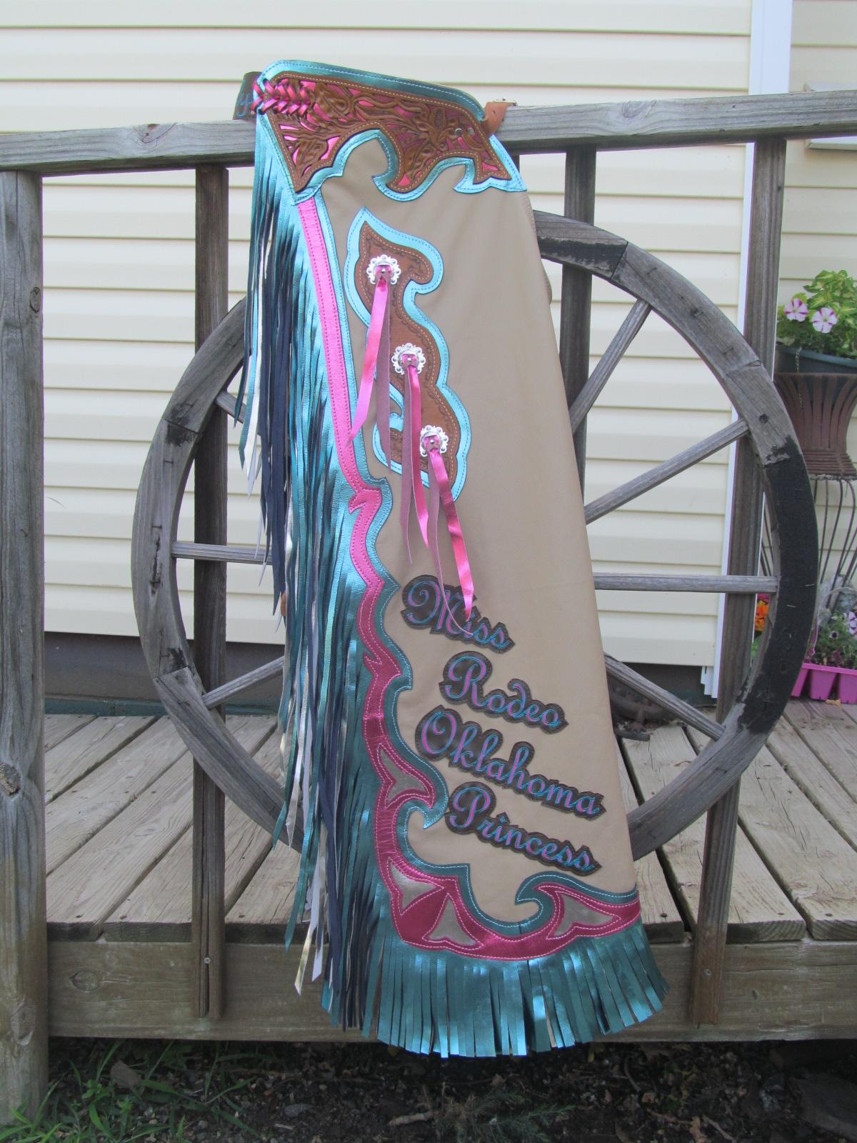 Rodeo Queen Chaps Royalty Chaps Custom Rodeo Queen Chaps