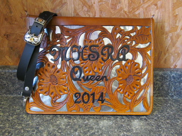 Custom  Rodeo Queen Binder - Brief Case