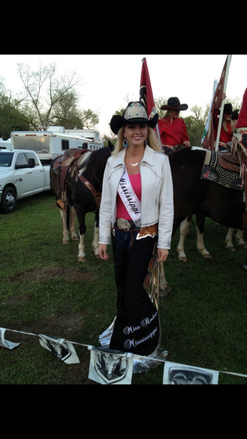 Miss Rodeo Mississippi 2013, Miss Rodeo America 2014 in Arrowheadnow Chaps