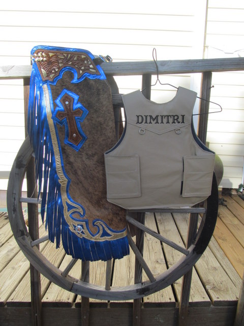 Steer Riding Chaps & Vest