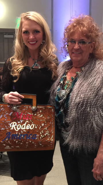 Custom Rodeo Queen Autograph / Briefcase