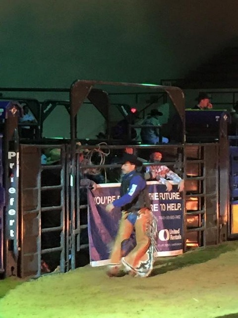 Sr.Bull Rider Chaps Rodeo