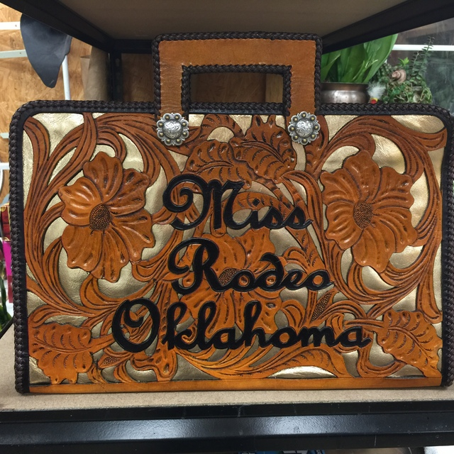 Rodeo Queen Autograph Briefcase Rodeo Queen Chaps