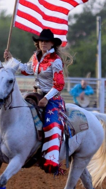 Rodeo Entry Chaps, Flag Design
