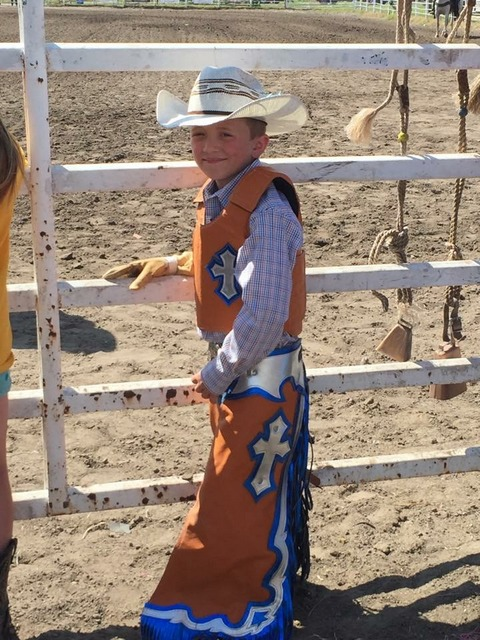 Mutton Bustin Chaps&Vest,Youth Riding Chaps, Mutton Bustin Vest & Chaps