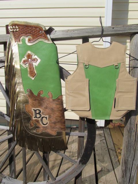Mutton Bustin Chaps&Vest, Mutton Bustin Vest & Chaps