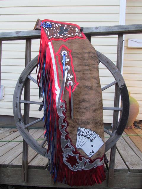 Bullriding Chaps, Rough Stock Chaps & Vest, Rodeo Chaps