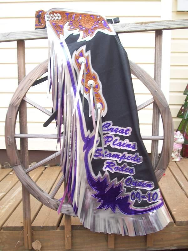 Queen Chaps, Rodeo Queen Chaps